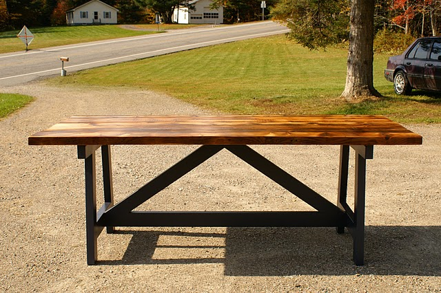 Diy Dining Room Table Reclaimed Wood