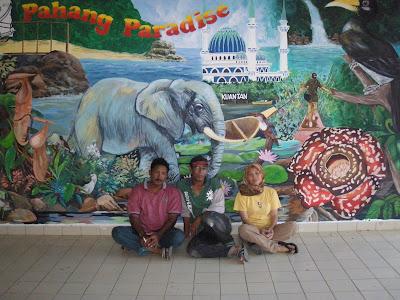 Rajawali mural sekolah menengah tok sera kuantan for Mural sekolah