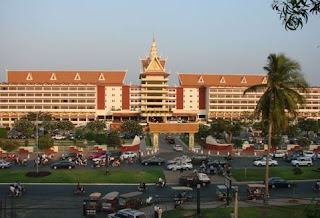 Perfect Count Down at Cambodiana Hotel in Cambodia