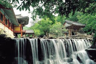 Songgwangsa is a Famous Temple in South Korea
