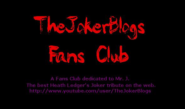 TheJokerBlogs Fans Club