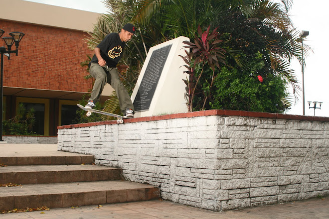 Bredio tail slide.