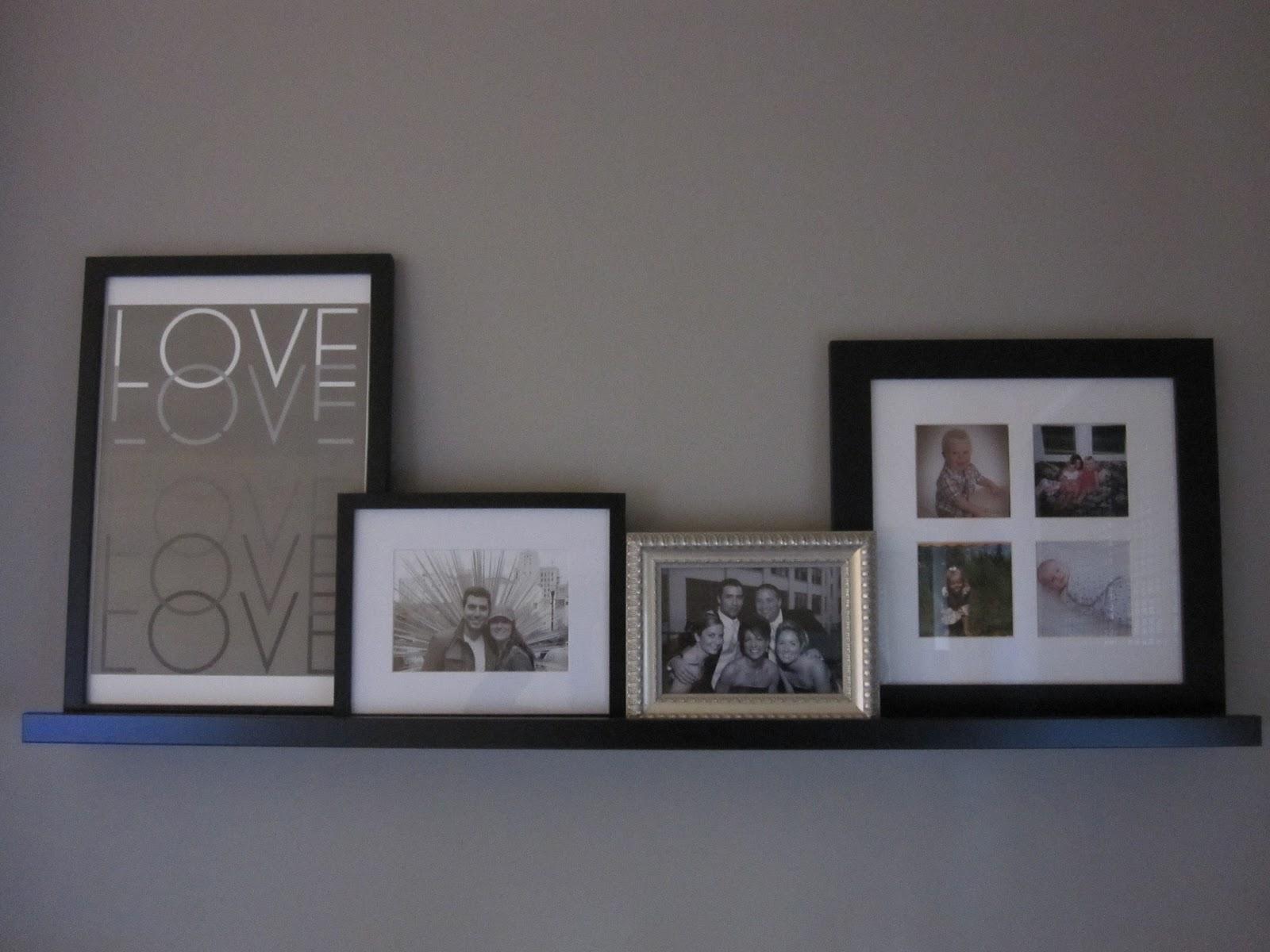 Ikea Photo Ledge