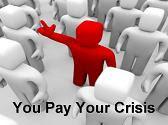 Πληρώστε μόνοι σας την κρίση σας!