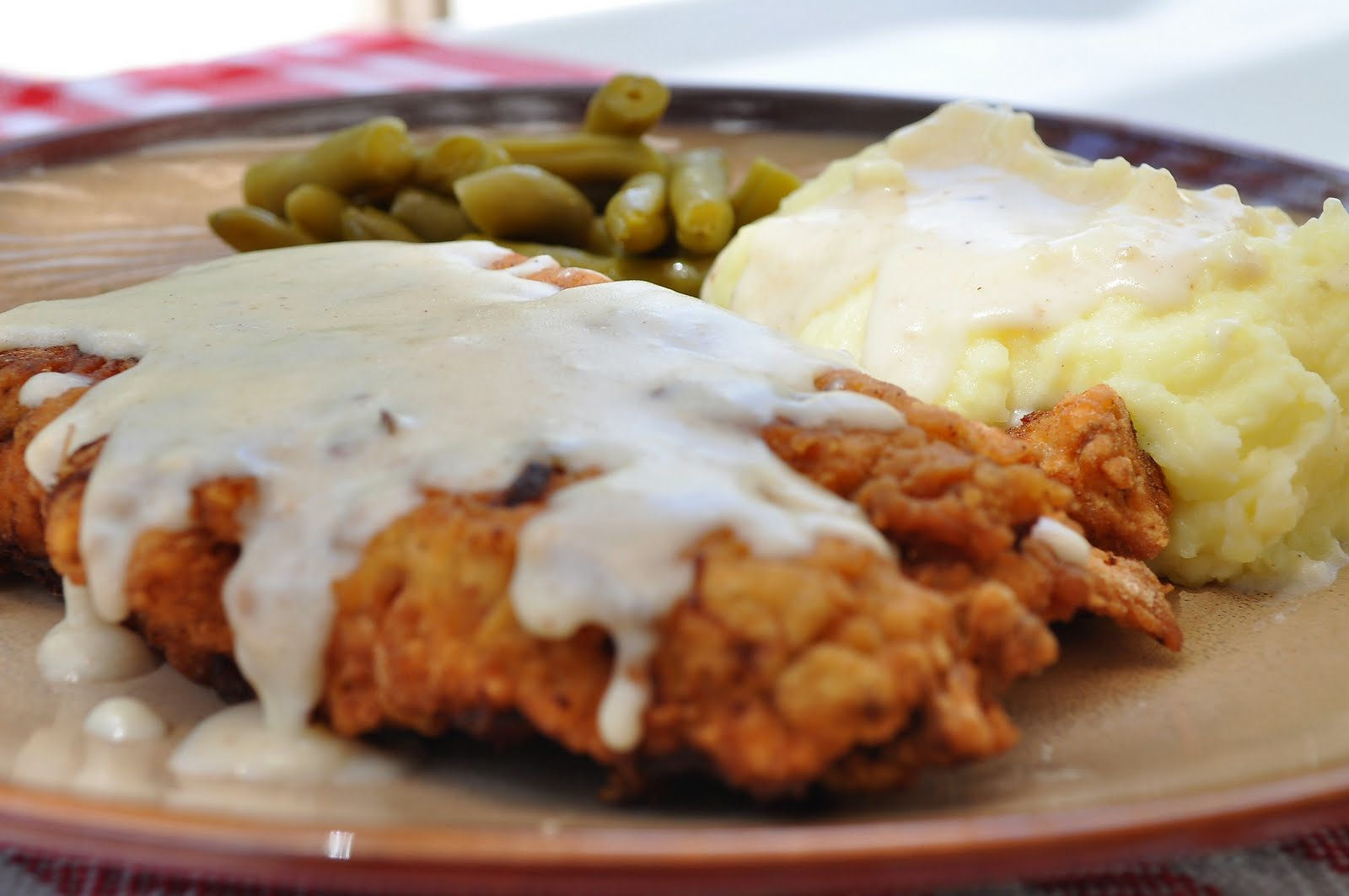 Freeing My Martha: Chicken Fried Steak With Country Gravy