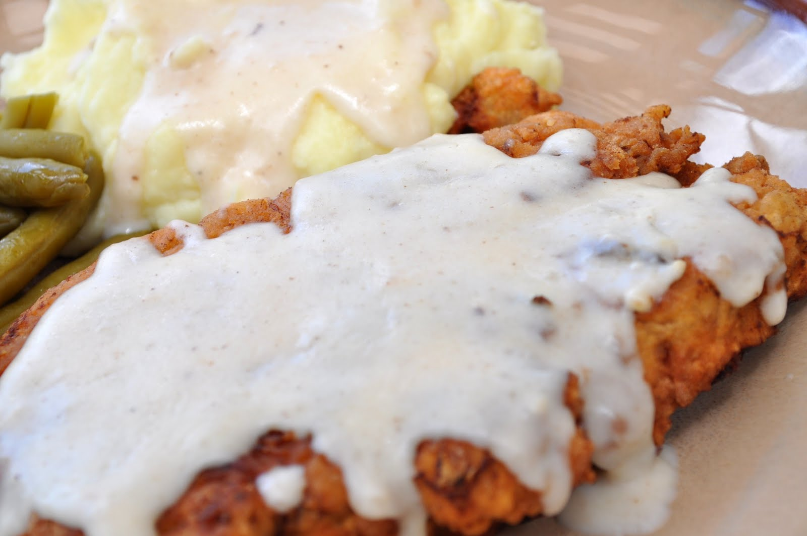 Chicken-Fried Steak With Country Gravy Recipe — Dishmaps