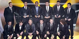 Dream Team 2010 FIFPro World XI