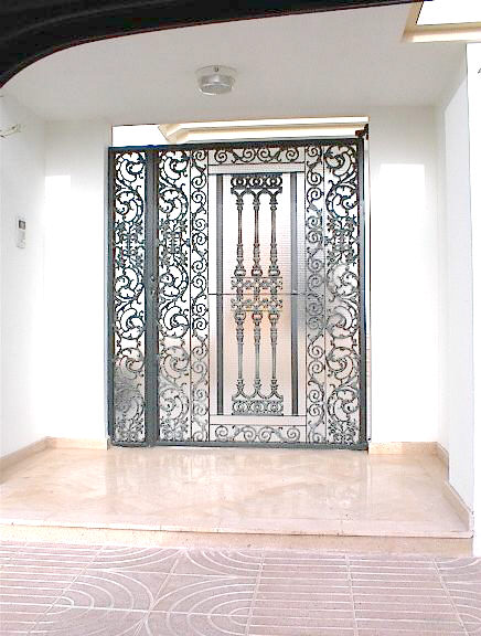 Porte d 39 entr e mod l sivana - Model porte d entree fer forge ...