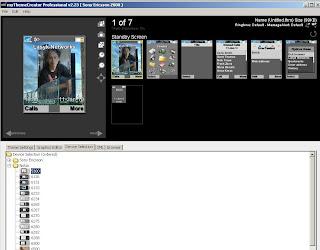 Aplikasi pembuat tema untuk ponsel Nokia dan Sony Ericsson