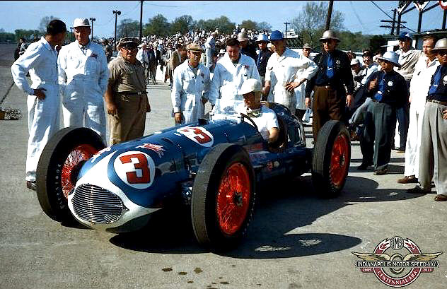 Bill Holland Race Car Driver