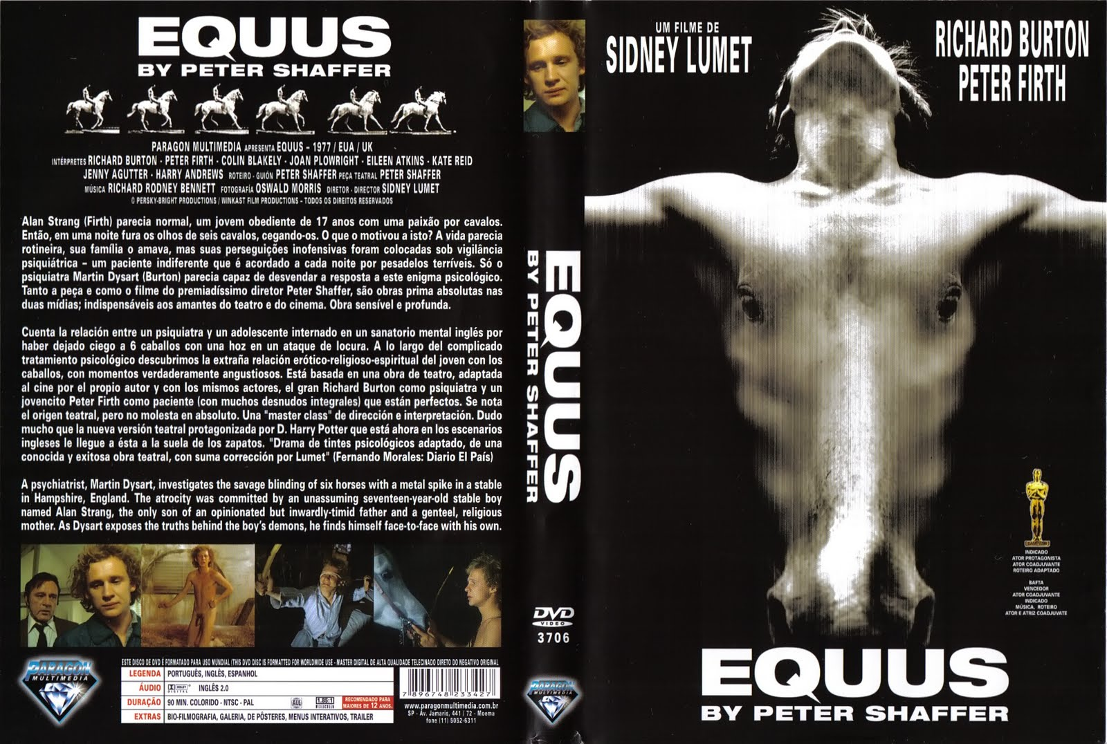 an analysis of equus by peter shaffers 27 quotes from equus: 'passion, you see, can be destroyed by a doctor it cannot be created.
