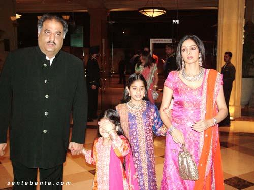 Sridevi  Sridevi at Riddhima Kapoors Wedding