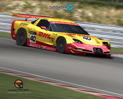 The C5R SkinPack available for rFactor too.