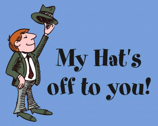 traders hub my hat s off to you mr hickey your disclaimer is