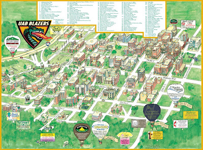 Garrison's Map Revisions: UAB, 2008