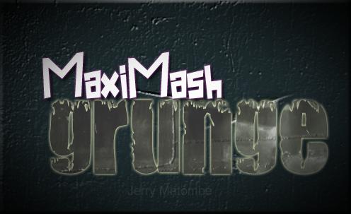 MaxiMash Grunge Software