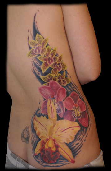 pretty flower tattoos. pretty flower tattoos.