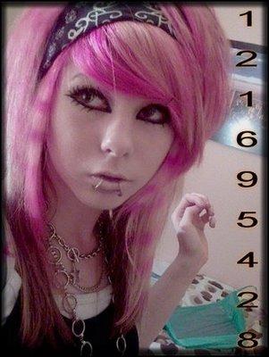 fashion emo hairstyle