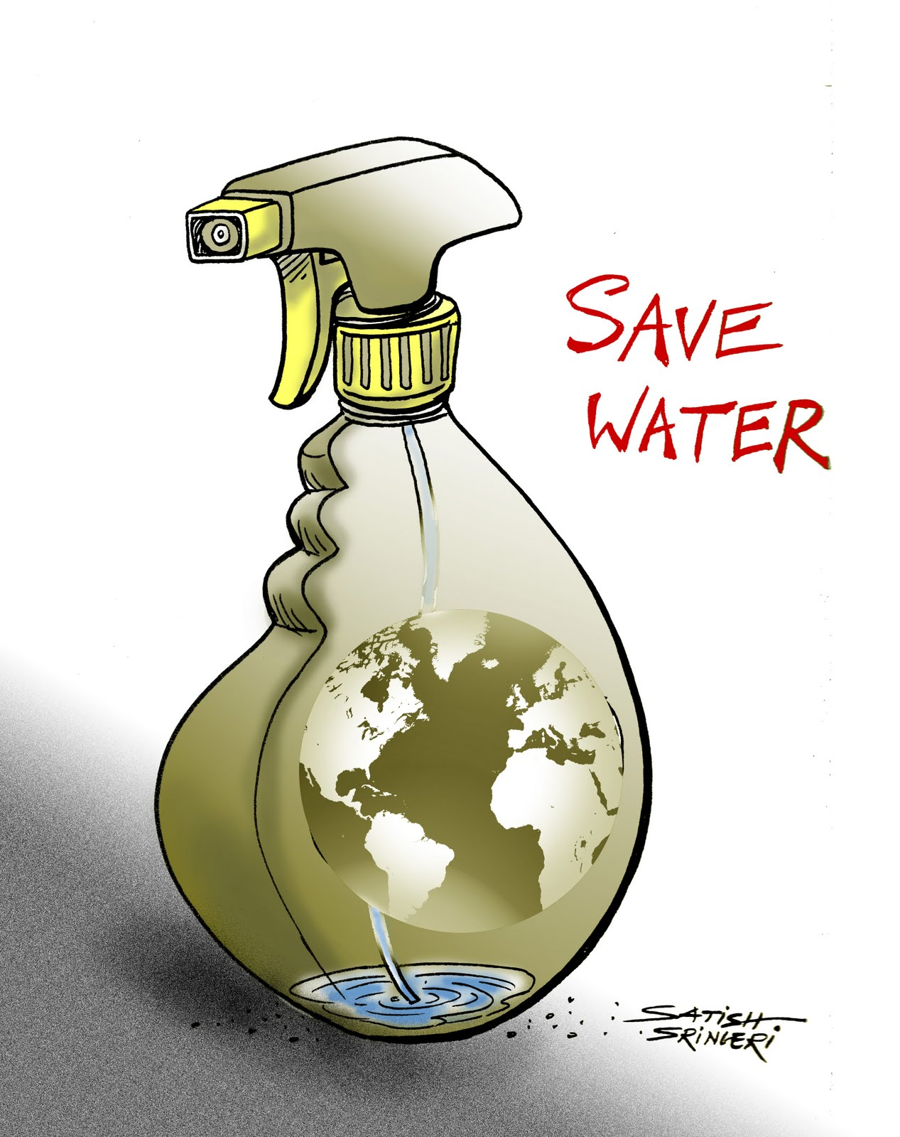 save water How to save water water covers 70% of the earth, but only 1% is easily accessible to you with water being such a necessary resource for life on earth, reducing your water footprint is a great way to take action water conservation can be.