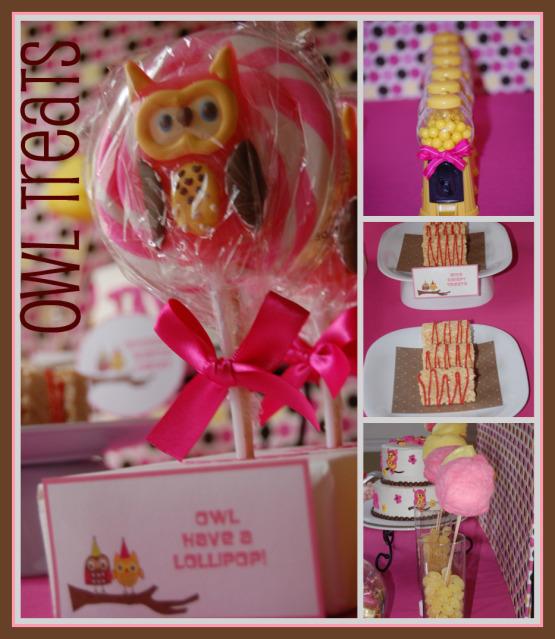 Cutie Pies Custom Creations: Adorable Owl Birthday Party