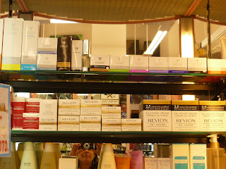 Perfumería Comercial Astur. Mieres. Punto de venta Eva Rogado