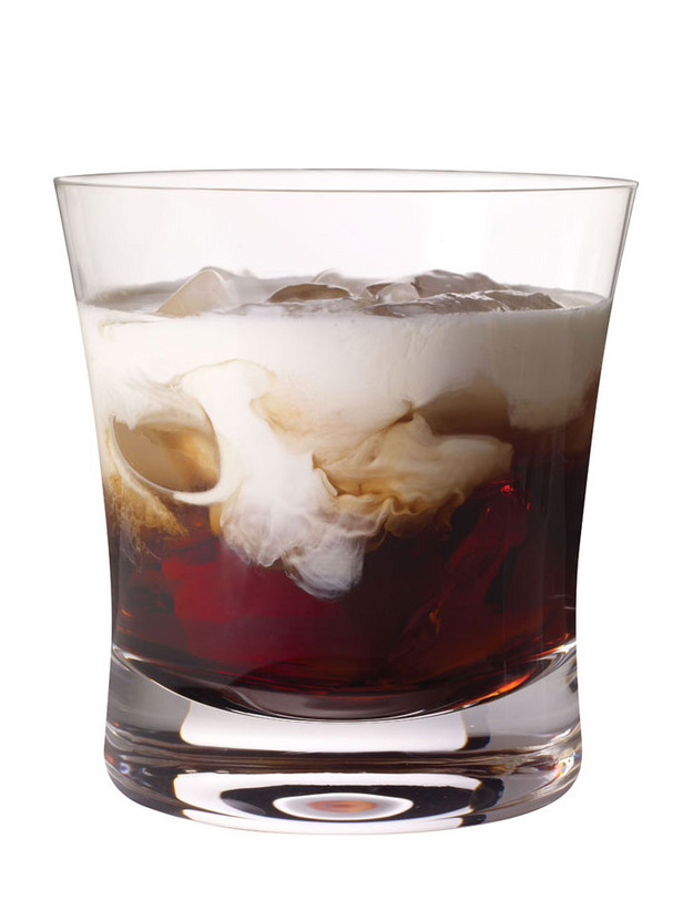 Next up is Kahlua & Cream or a Kahlua White Russian (Kahlua, milk/cream,