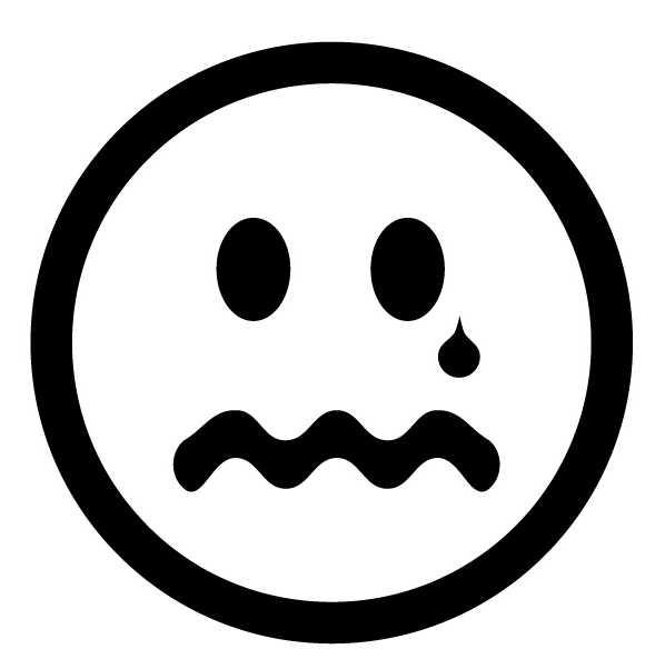 clip art sad faces. clip art sad faces.