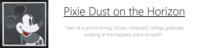 Pixie Dust on the Horizon
