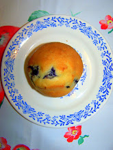 Blueberry Cream Muffins-Click for recipe