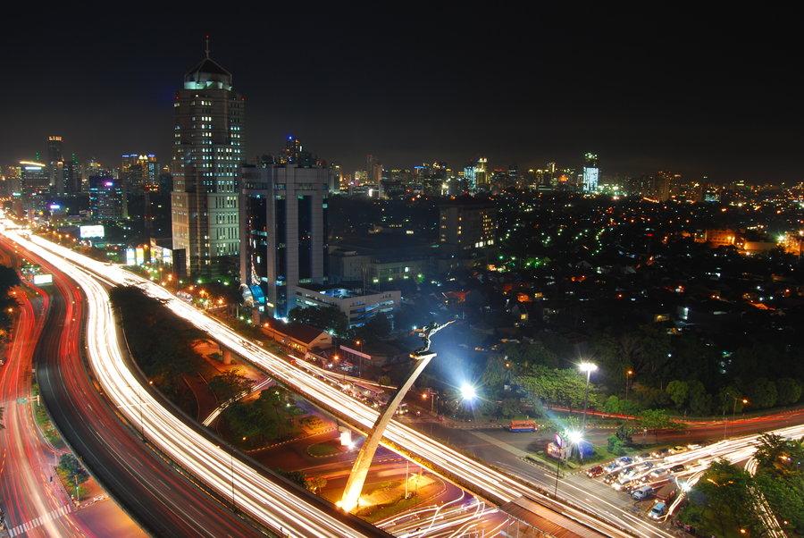 Jakarta at Night