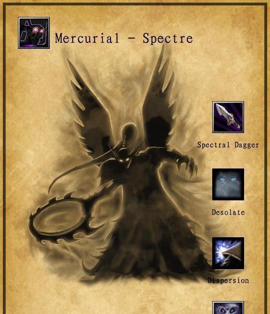 Spectre The Mercurial DotA Hero Strategy Guide Dota