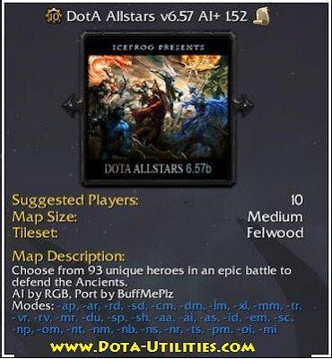 Download Dota Allstars 657b AIPlus V152 Revision 3