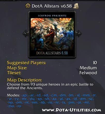 Dota 658 Released Dota Allstars 658 W3x Download