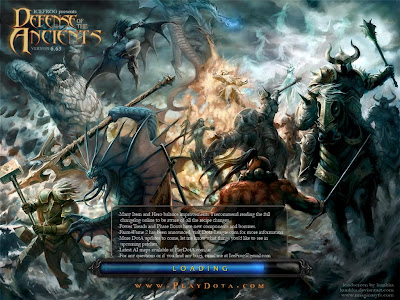 Dota 6.63 Loading Screen