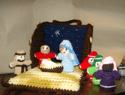 Ravelry: Amigurumi Nativity pattern by Carolyn Christmas