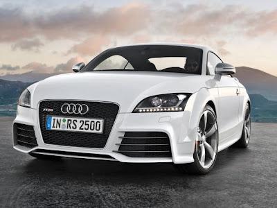 Audi 2010 TT RS White