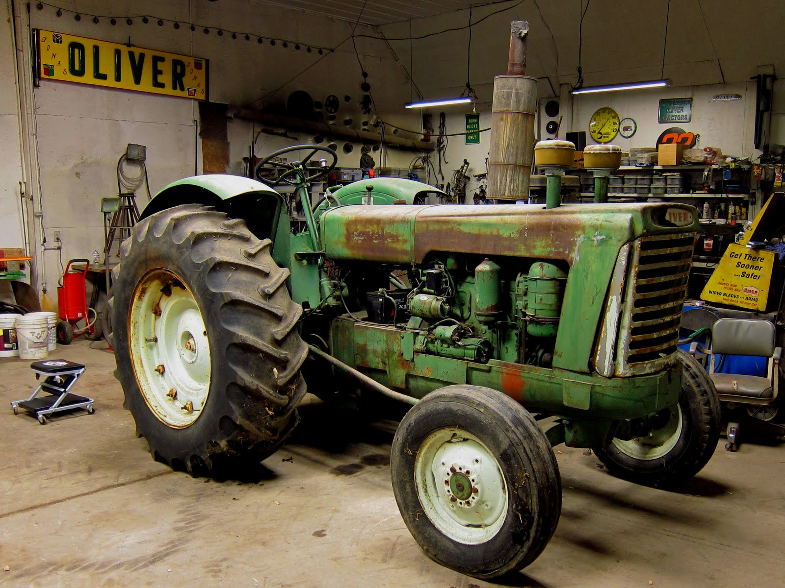 Oliver 990 Tractor : Everyday with patrick j oliver
