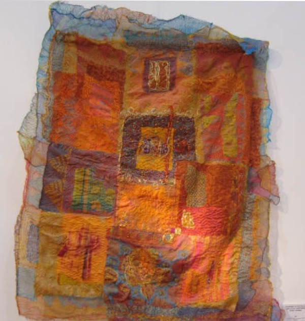 Knitting Stitch By Judy : Judy Cooper Textile Images: #3 Textile Art from Knitting & Stitch Show, L...