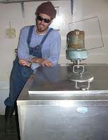 bulk tank for goat milk