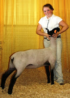 Grand Champion Market Lamb at 2006 Maryland State Fair