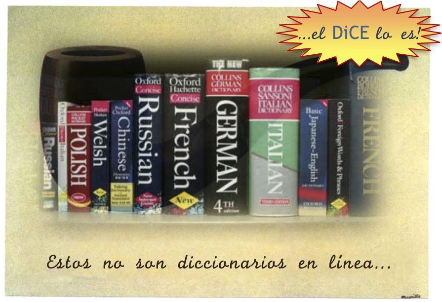 diccionarios en linea: