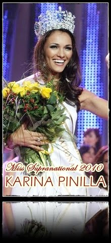 Miss Supranational 2010 is KARINA PINILLA