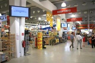 OBI store interior