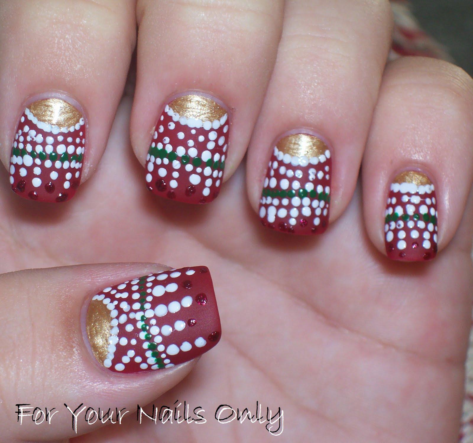 Christmas Ornaments Nail Polish : Christmas nail polish quotes quotesgram