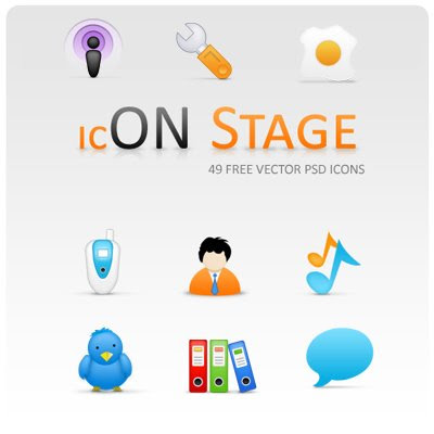 On Stage Icon Set