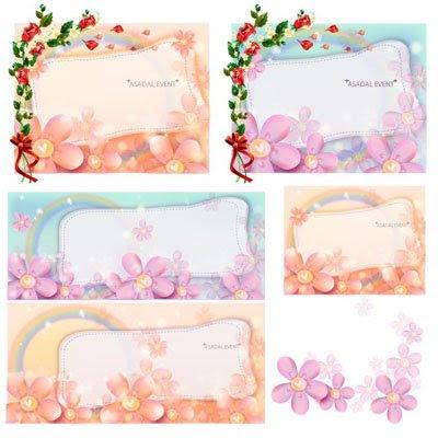 ASADAL Floral Frames