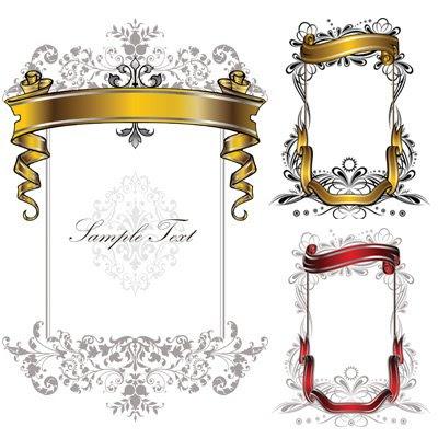 Heraldry Vector Frame