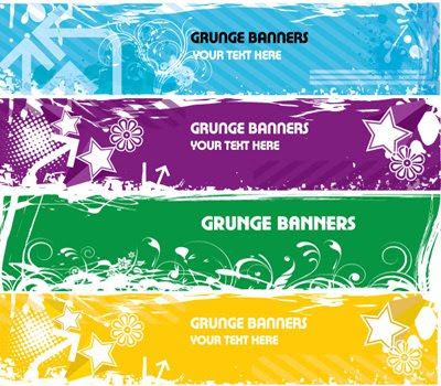 Download Grunge Banners