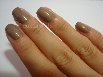 light brown nails #10