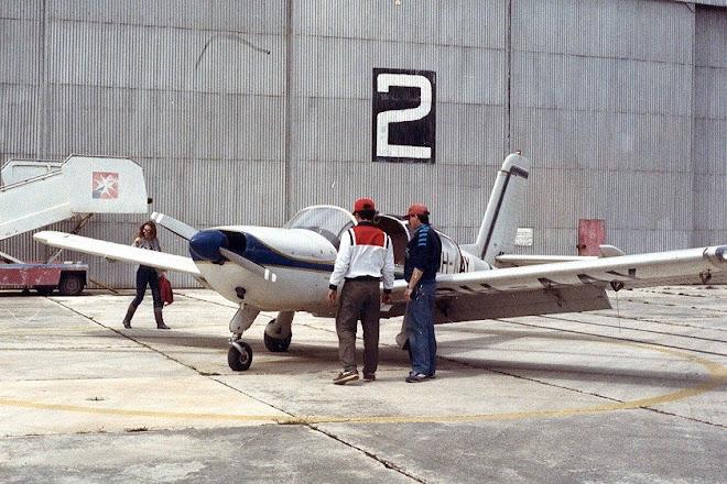 Luqa Airport 1987.